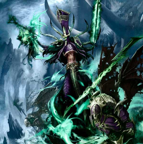 """Nagash, Supreme Lord of the Undead, being all """"wraaa!"""""""