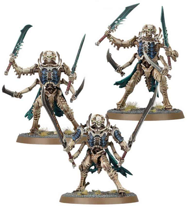 Necropolis Stalkers  in the upcoming Ossiarch Bonereapers Death release for Age of Sigmar