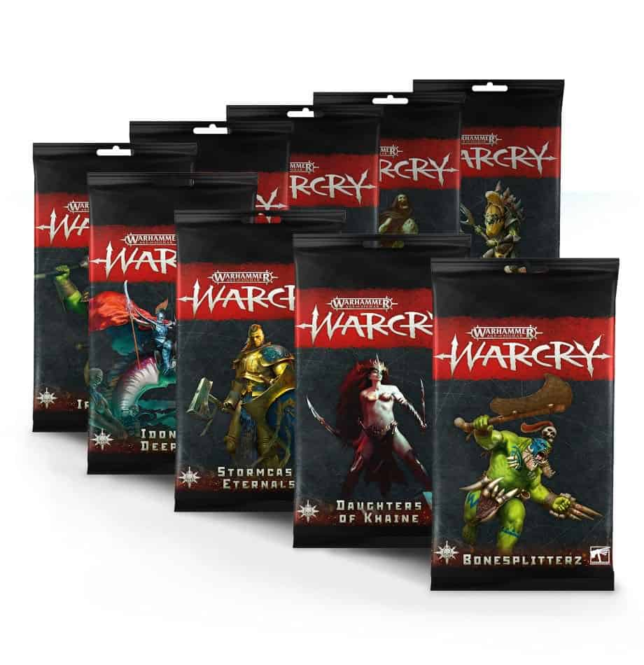 All the Card Packs for non chaos warbands in Warcry