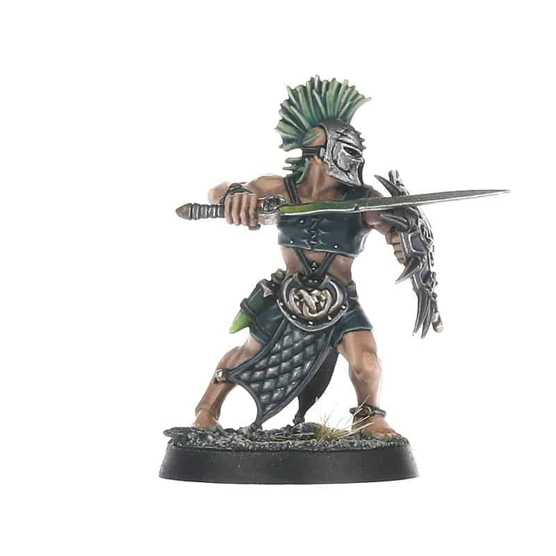 Clearblood with Shield for the Splintered Fang Warcry Warband