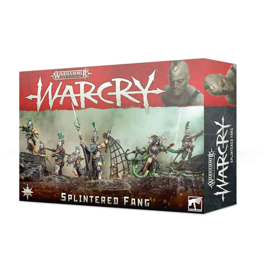 The Splintered Fang Warband box for Warcry