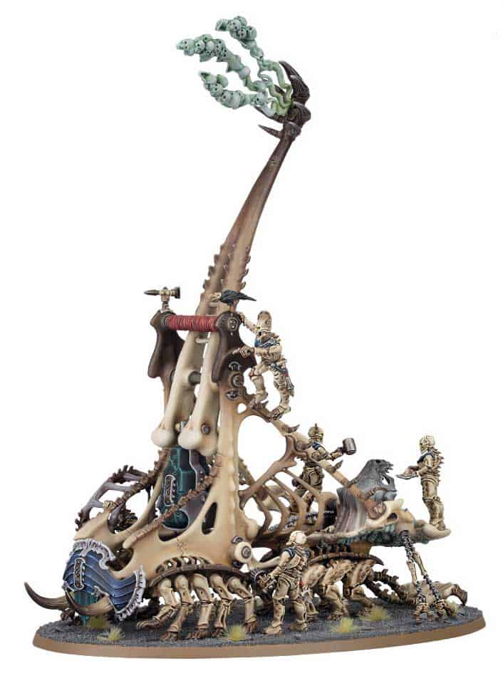 The Mortek Crawl  in the upcoming Ossiarch Bonereapers Death release for Age of Sigmar