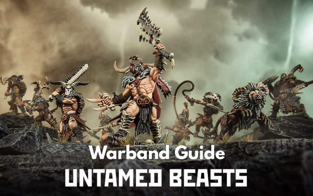 Untamed Beasts Warcry Warband – Guide, Tactics and Overview