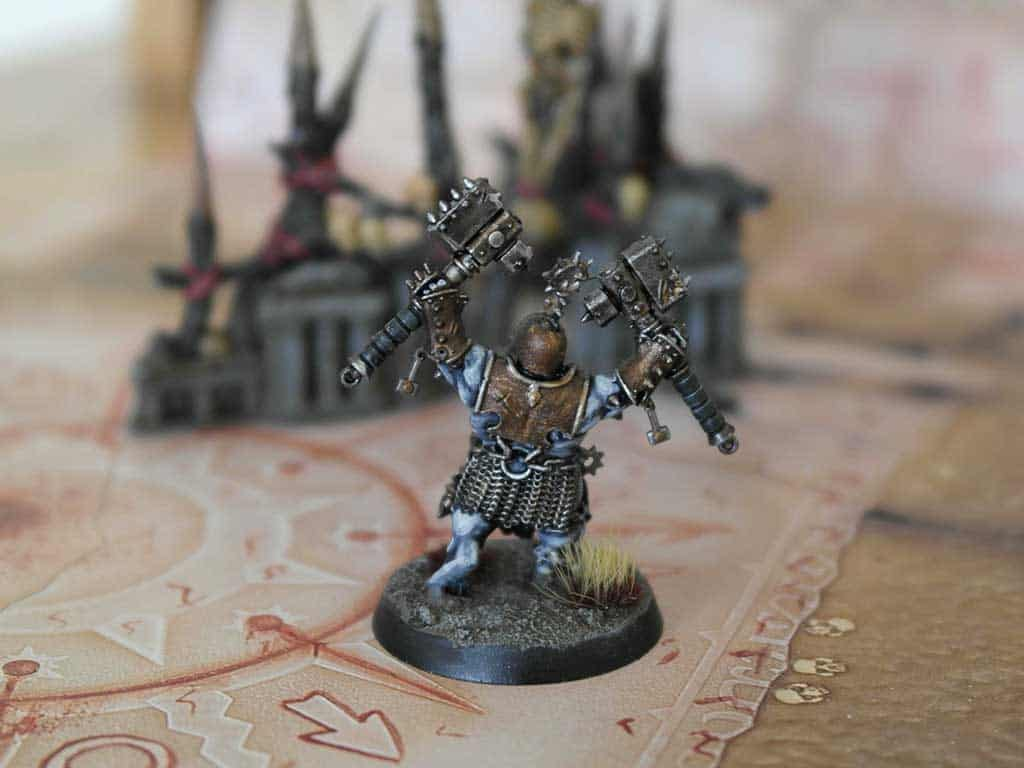 A Iron Golems Armator painted with contrast paints
