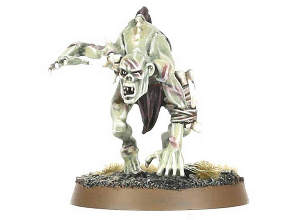 Crypt Ghoul for the Flesh-Eater Courts Warband in Warcry