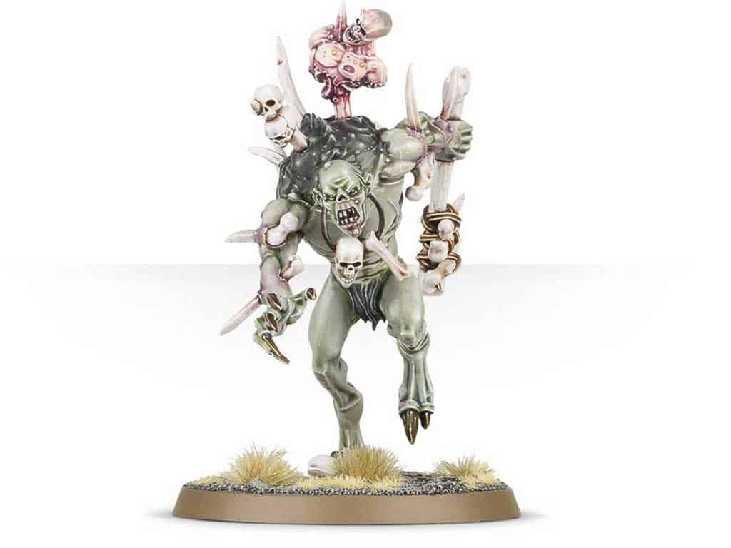 Crypt Haunter for the Flesh-Eater Courts Warband in Warcry