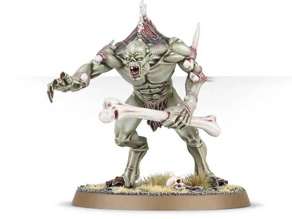Crypt Horror for the Flesh-Eater Courts Warband in Warcry