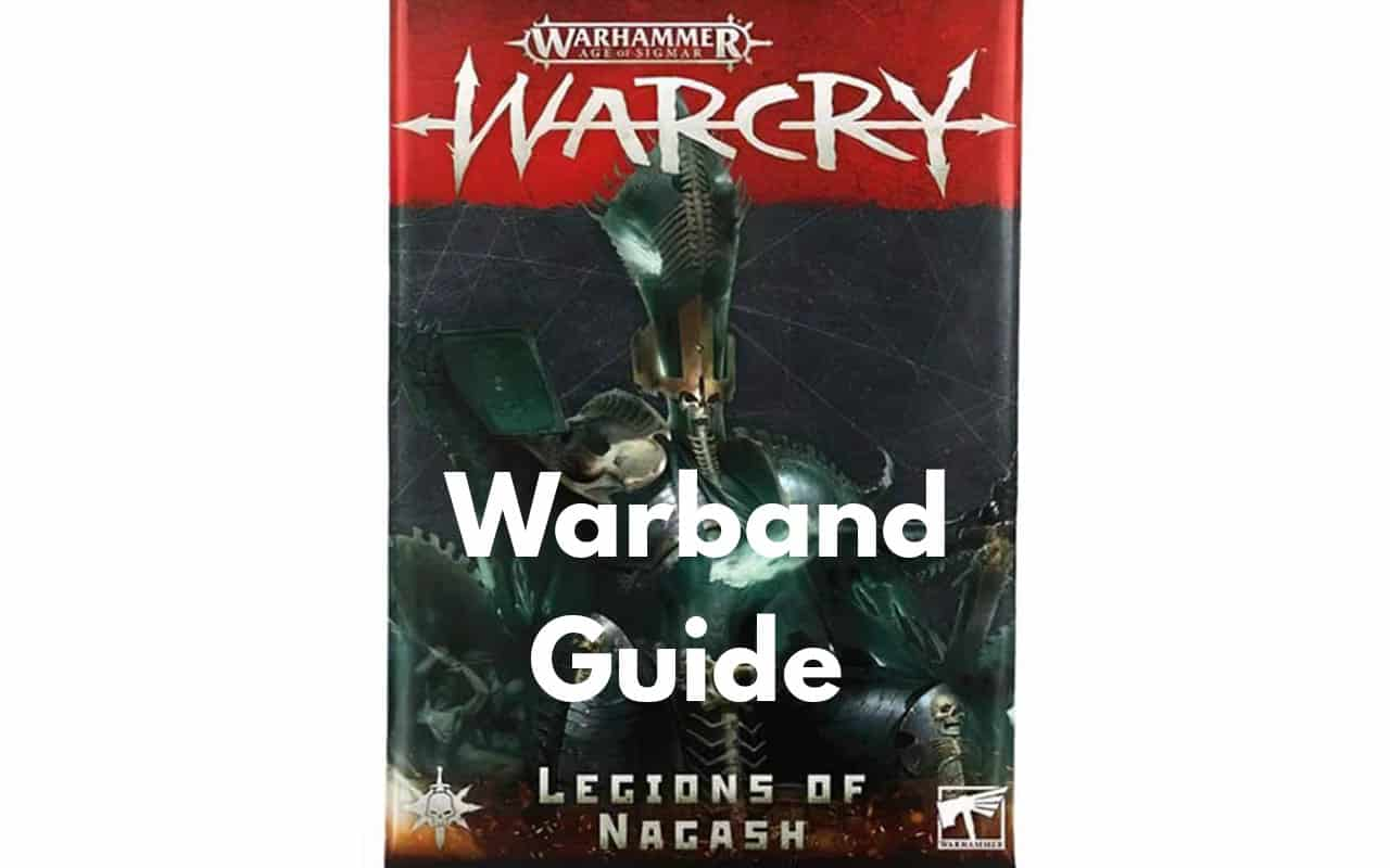 Warcry Warband Overview (All Minis, Ability, Fighter Cards) 30