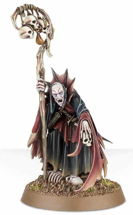 Necromancer for the Legions of Nagash Warband in Warcry