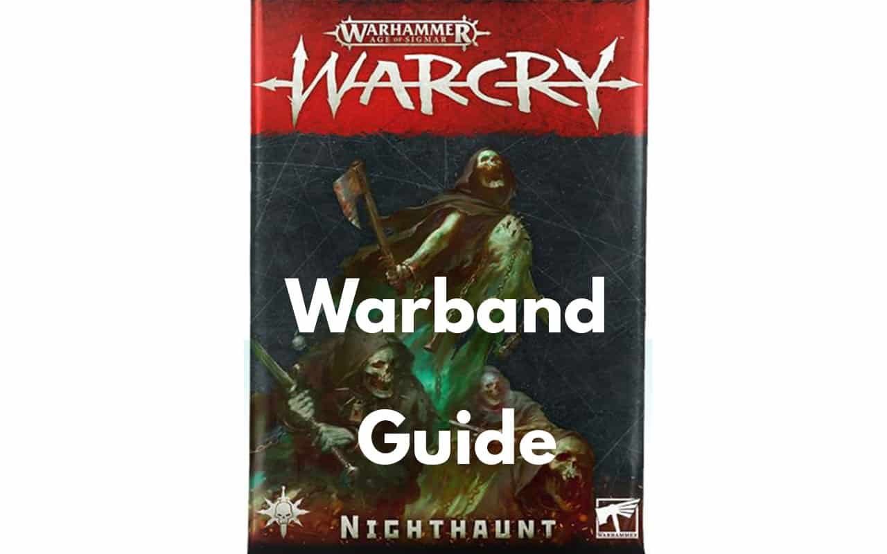 Warcry Warband Overview (All Minis, Ability, Fighter Cards) 29