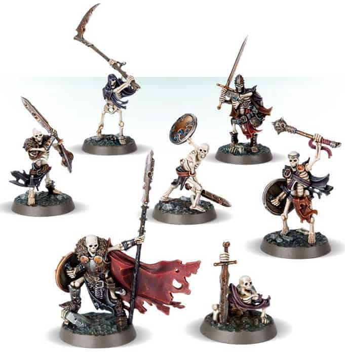 Sepulchral Guard for the Legions of Nagash Warcry Warband