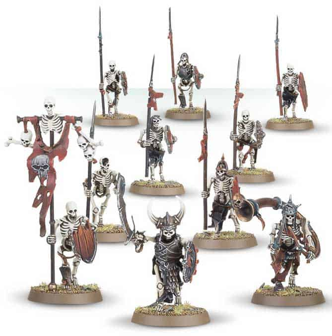 Skeleton Warriors for the Legions of Nagash Warcry Warband