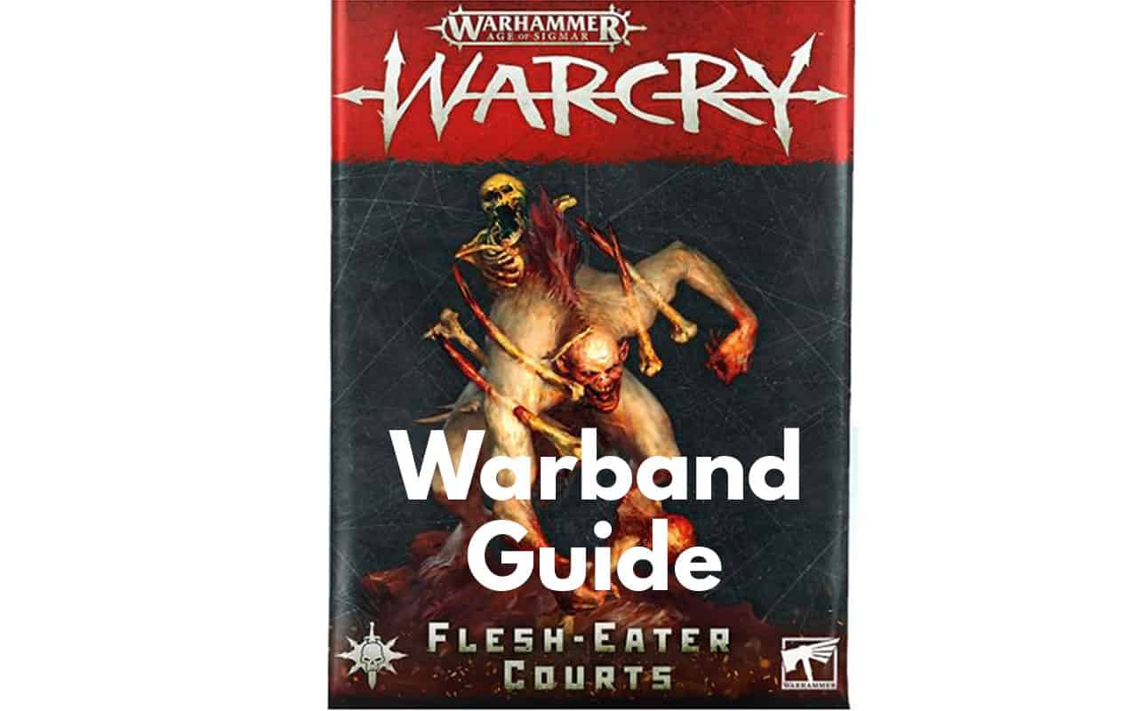 Warcry Warband Overview (All Minis, Ability, Fighter Cards) 31