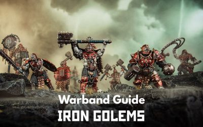 The Iron Golems Warcry Warband – Guide, Tactics and Overview