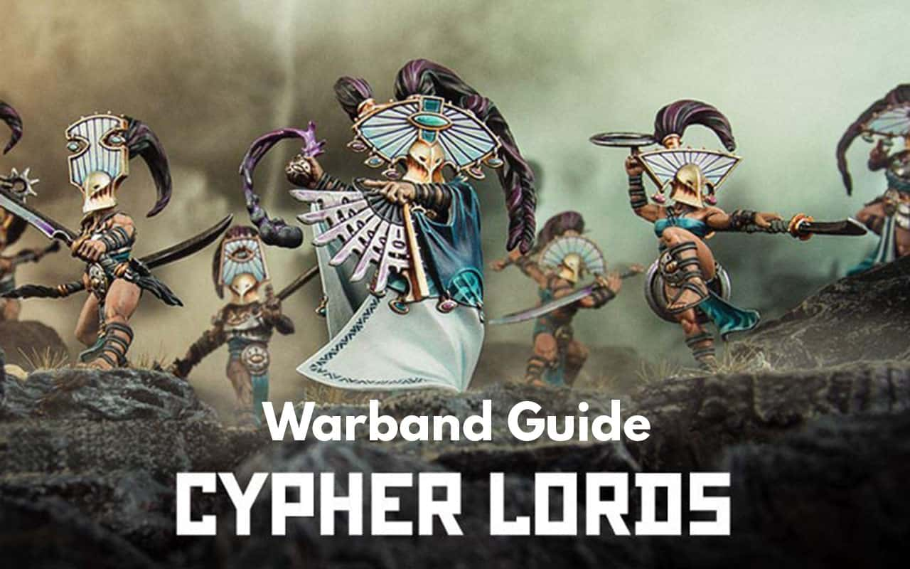 Warcry Warband Overview (All Minis, Ability, Fighter Cards) 4