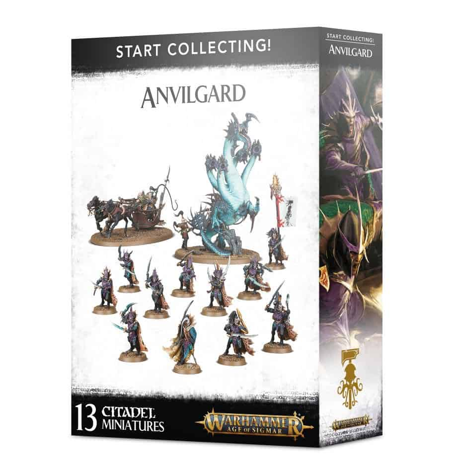 A picture of the Age of Sigmar Start Collecting box for Beastclaw Raiders