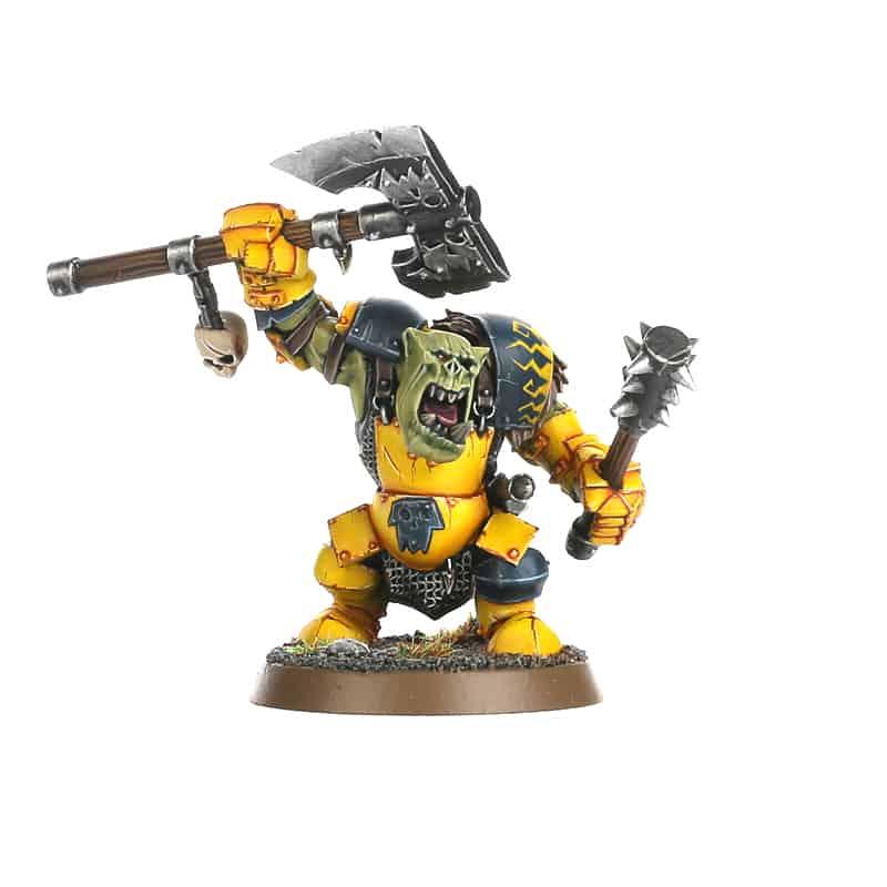 Ardboy Boss for the Ironjawz Warcry Warband