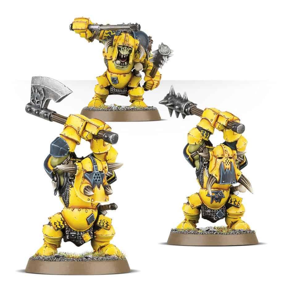 Ardboys for the Ironjawz Warcry Warband