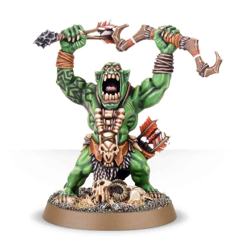 Arrowboy Boss for the Bonesplitterz Warband in Warcry