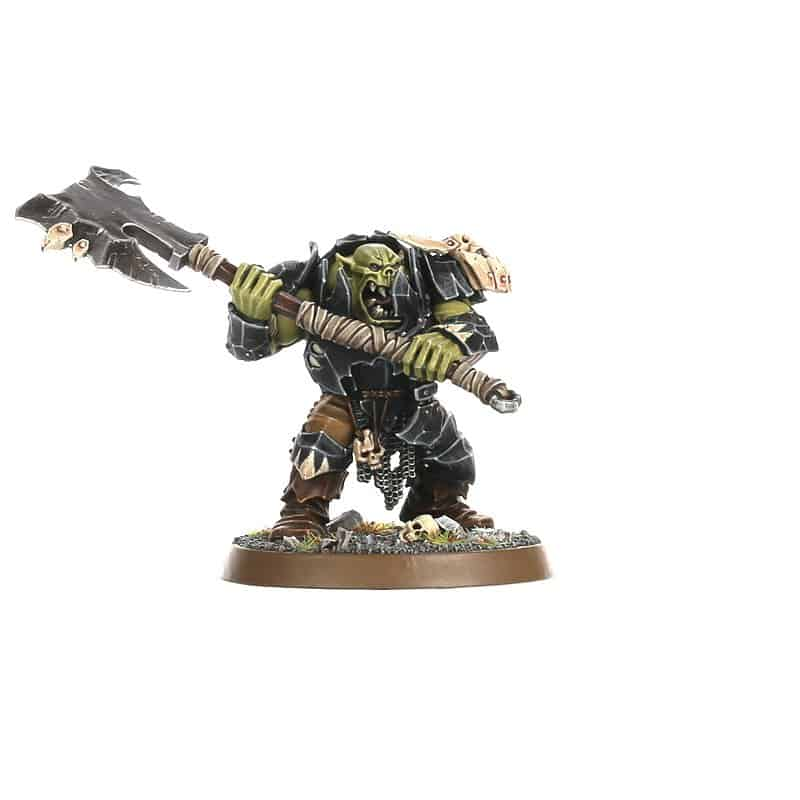 A brute with a Gore-Hacka for the Ironjawz Warcry Warband
