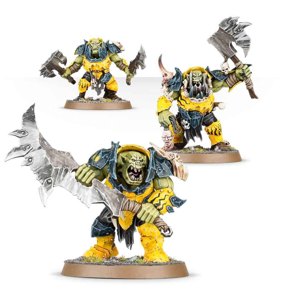 A brute with Gore-Choppa for the Ironjawz Warcry Warband