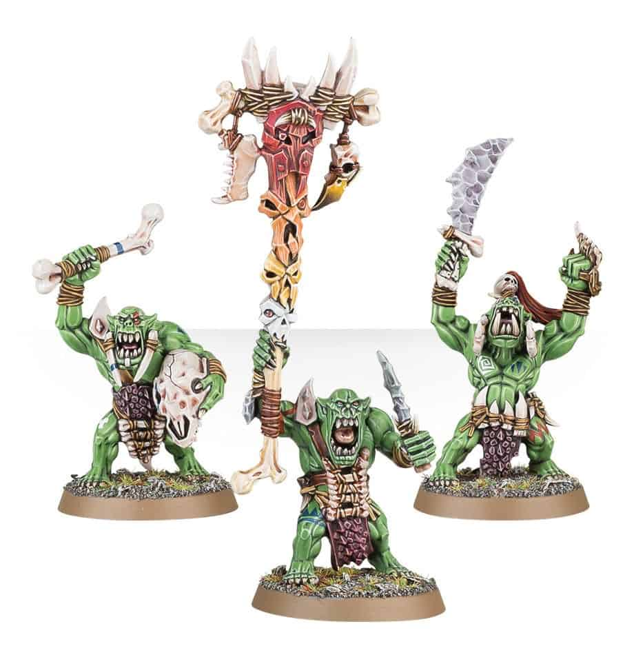 Save Morboy with Bone Totem for the Bonesplitterz Warband in Warcry