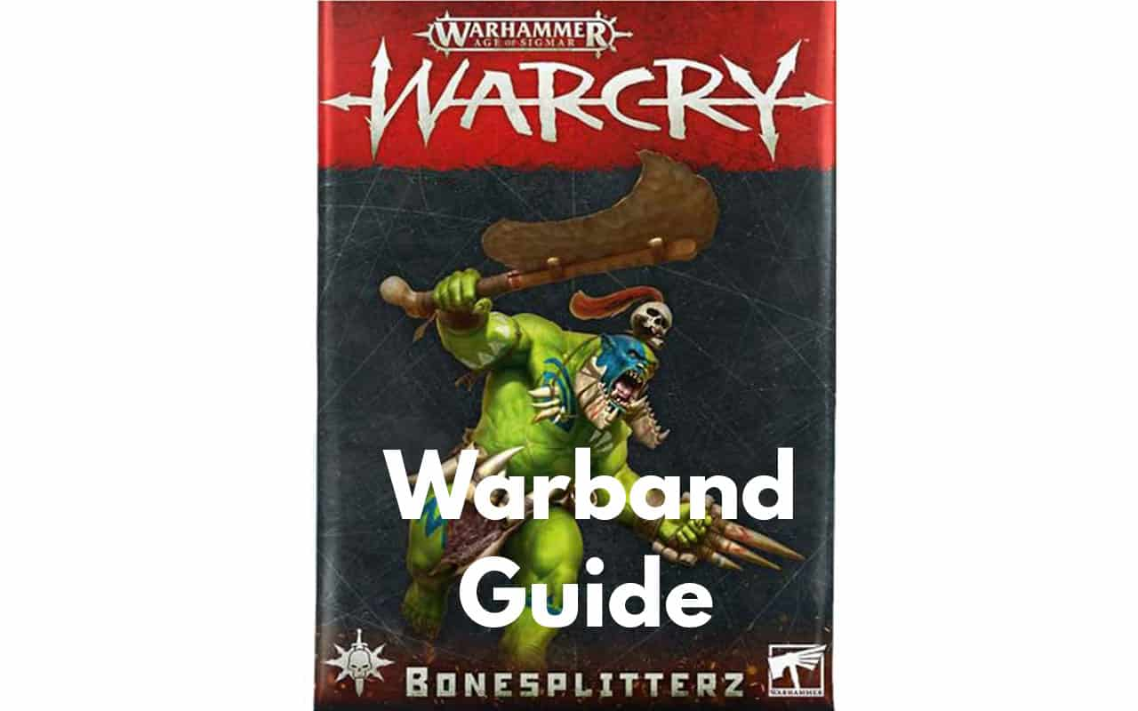 Warcry Warband Overview (All Minis, Ability, Fighter Cards) 33