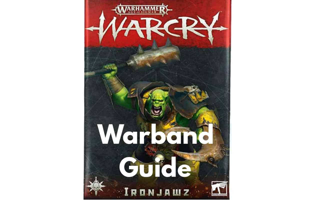 Warcry Warband Overview (All Minis, Ability, Fighter Cards) 32