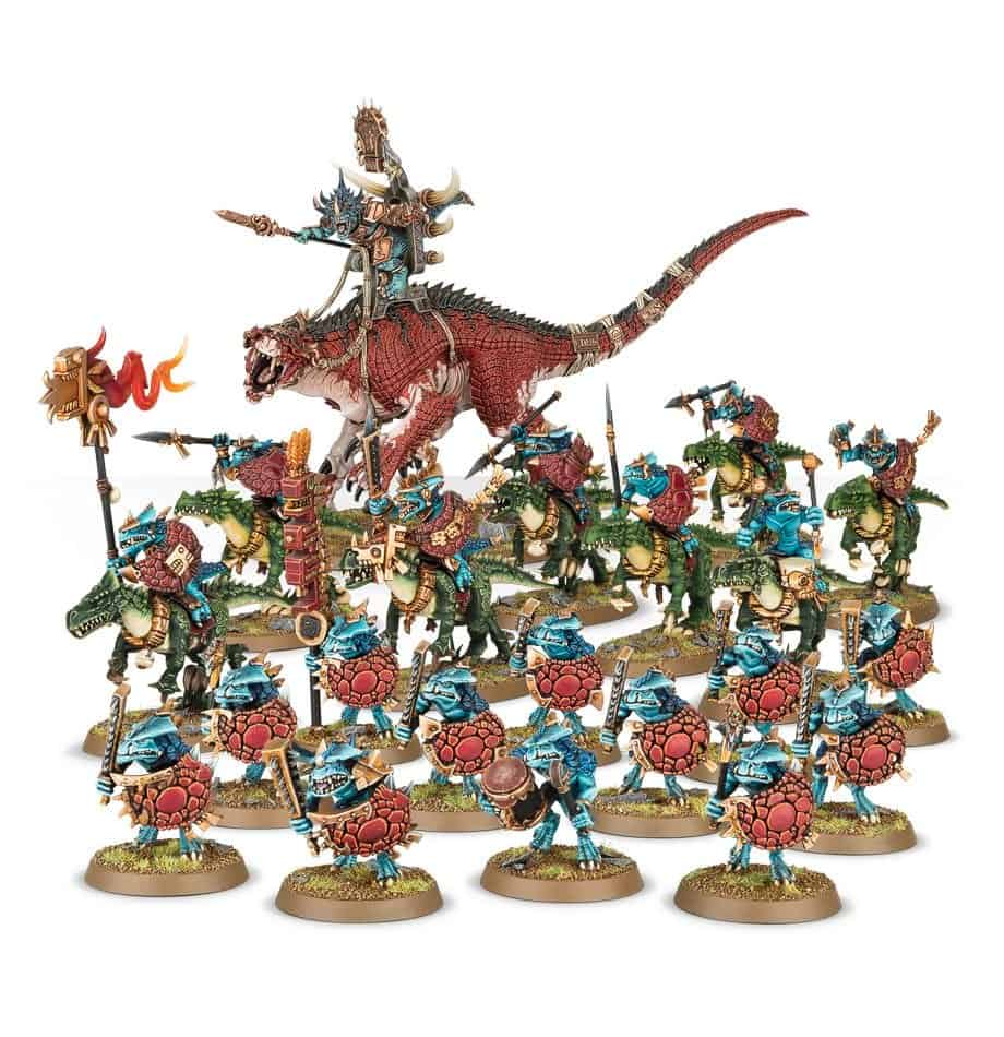 Review of Seraphon Start Collecting (points, minis, value) 2