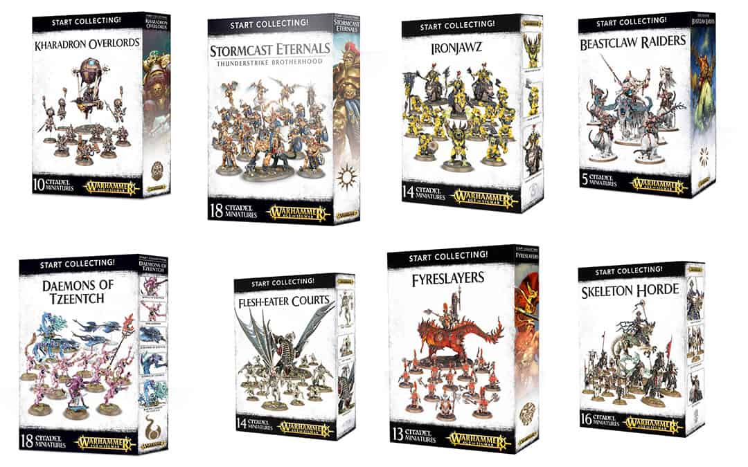 All AoS Start Collecting Boxes: values, review and points