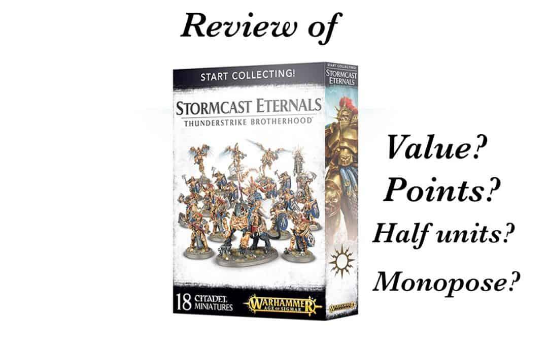 Review of Start Collecting Thunderstrike Brotherhood