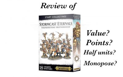 Review of Start Collecting Thunderstrike Brotherhood