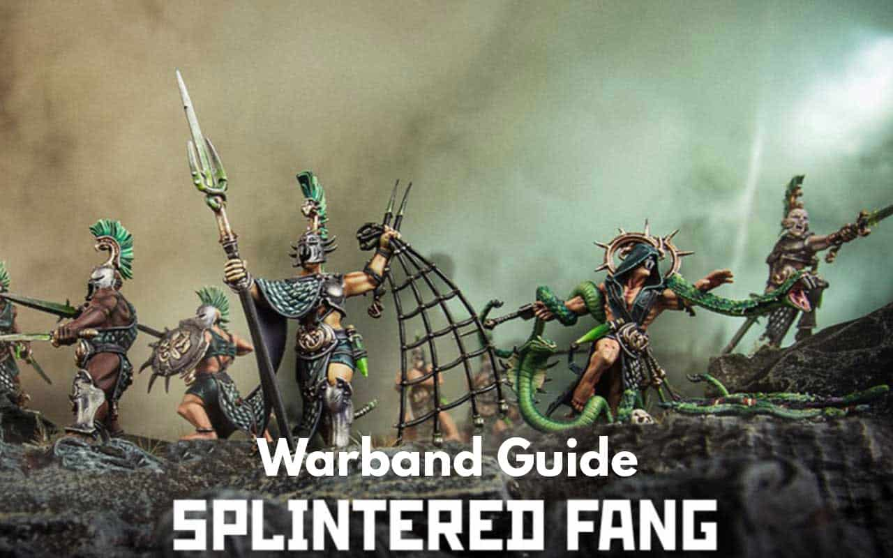 Warcry Warband Overview (All Minis, Ability, Fighter Cards) 7