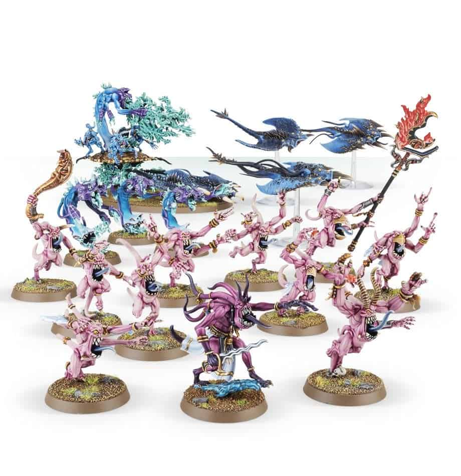 Review of the Start Collecting box for Daemons of Tzeentch 5