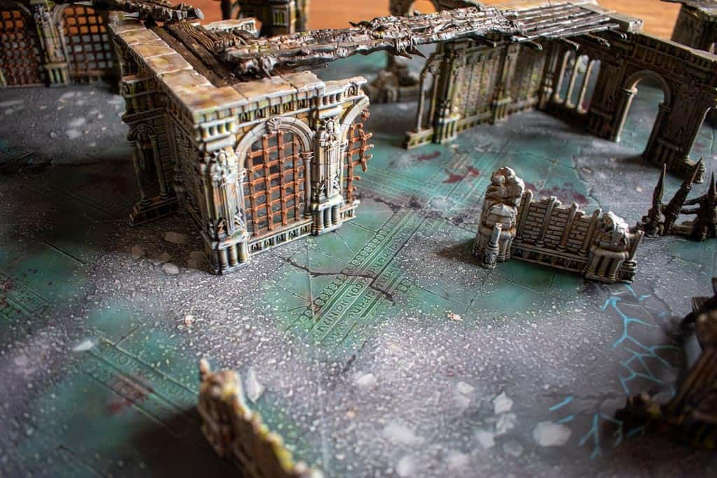 Just some warcry terrain painted in a rusty old look