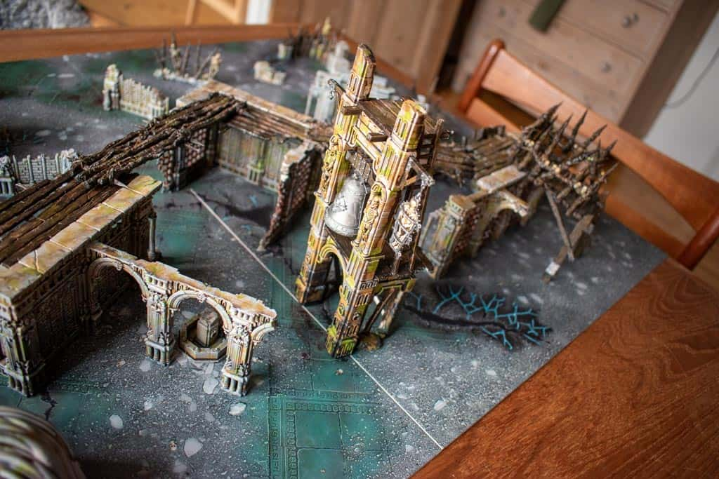 Rusty old warcry terrain