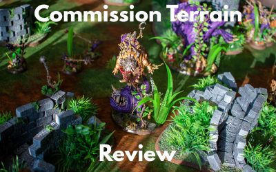 Review: Cheap Commission Terrain from Go To Ground Wargaming
