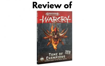 Tome of Champions Warcry 2019 Review (Great for Campiagn)
