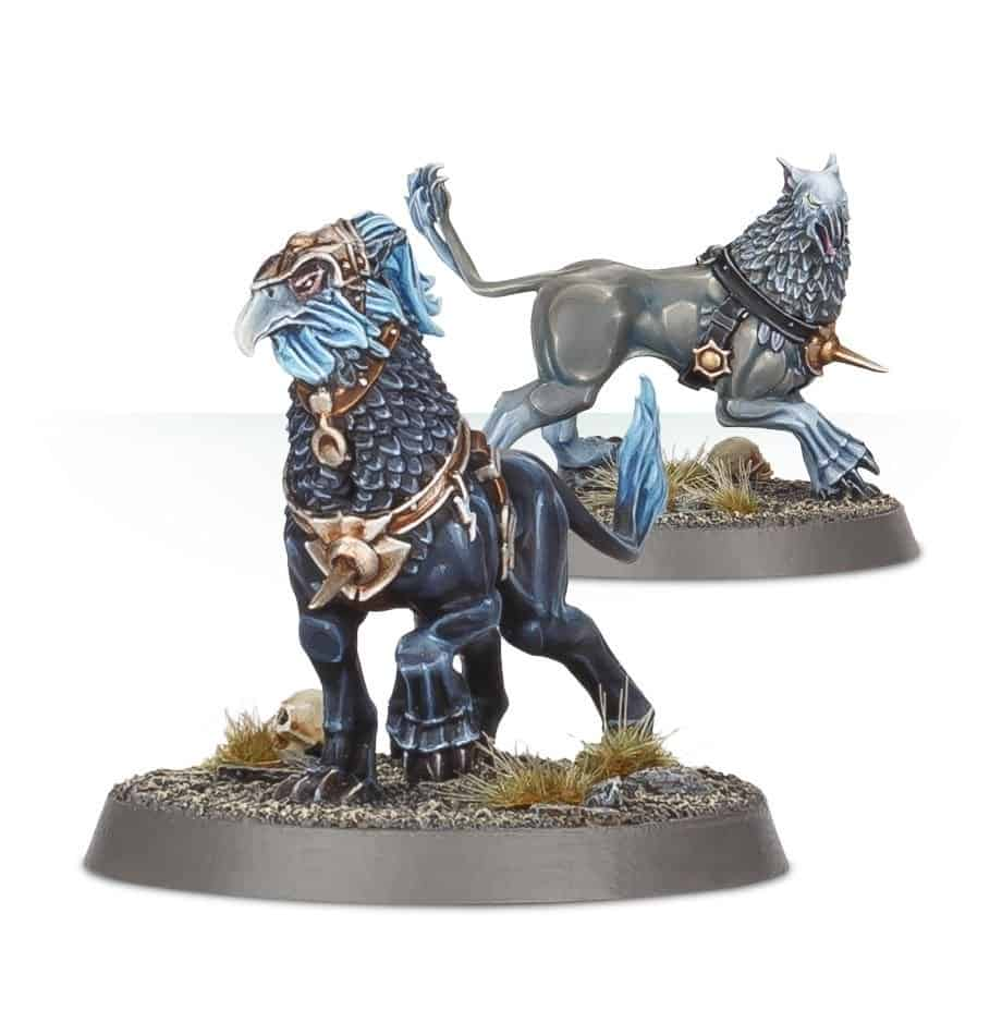 Gryph-Hounds for the Stormcast Vanguard Warband in Warcry