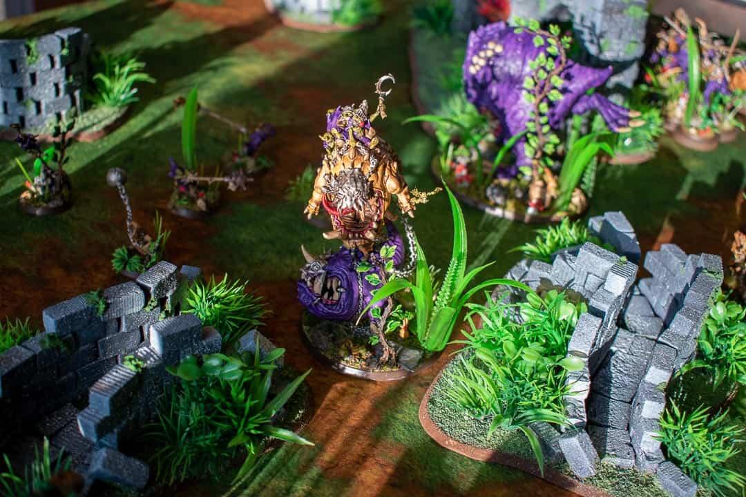 More Gloomspite Gitz on jungle terrain