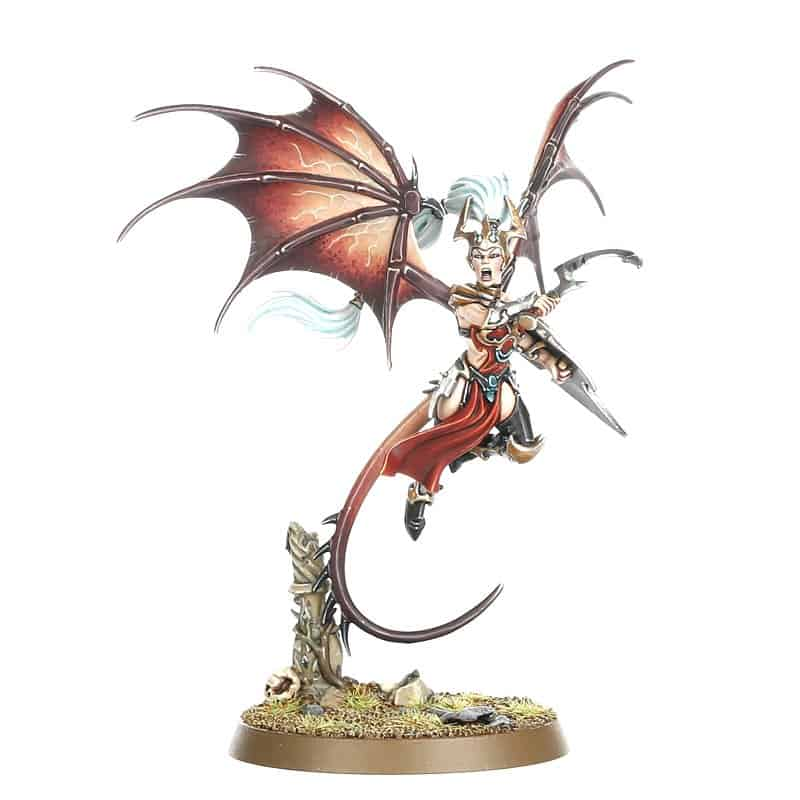 Khinerai Lifetaker Harridynn for the Daughters of Khaine Warband in Warcry
