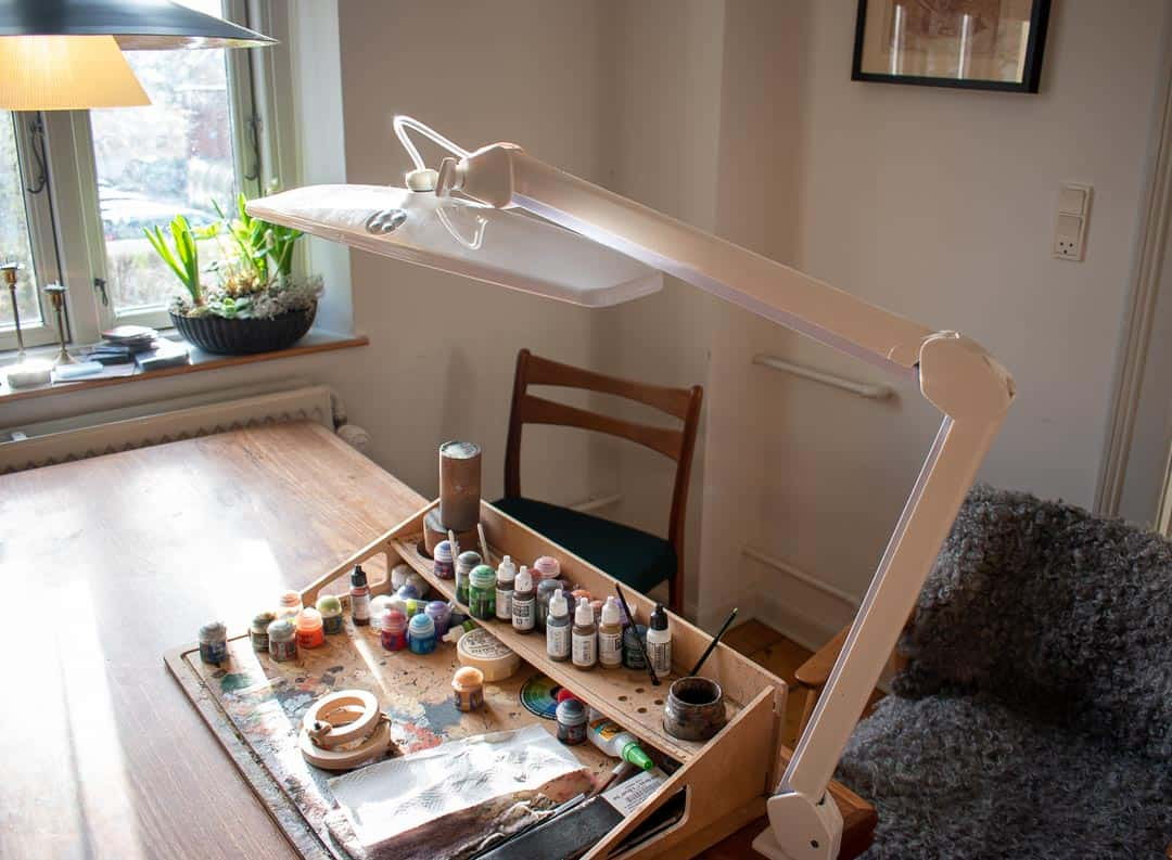 Lamp And Light For Painting Miniatures