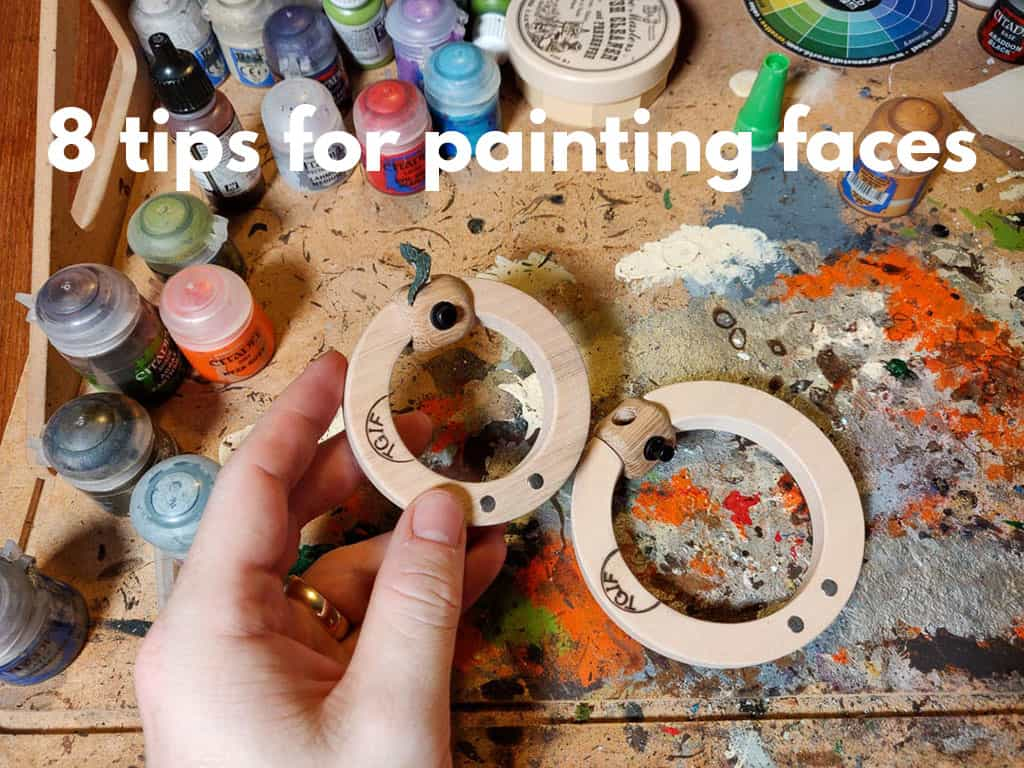 8 Tips for Painting Miniature Faces, Heads and Eyes