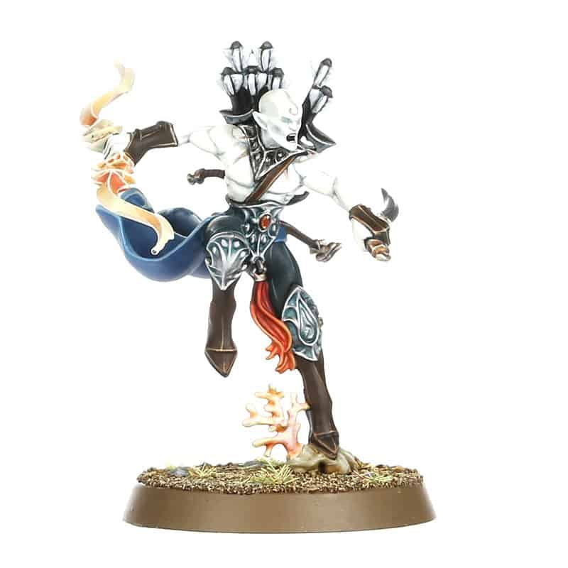 Namarti Reaver for the Idoneth Deepkin Warband in Warcry
