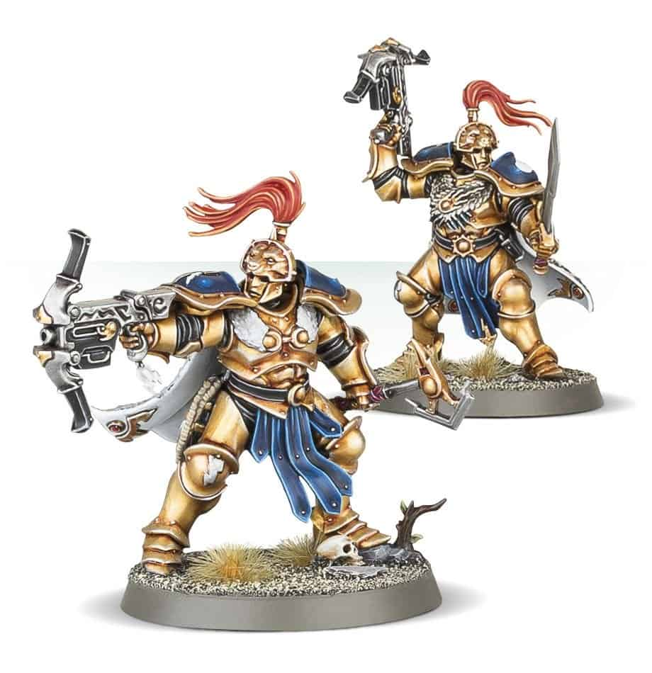 Vanguard Hunters for the Stormcast Vanguard Warband in Warcry
