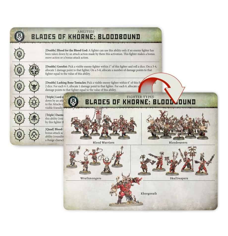 Fighters in the Blades of Khorne: Bloodbound in Warcry