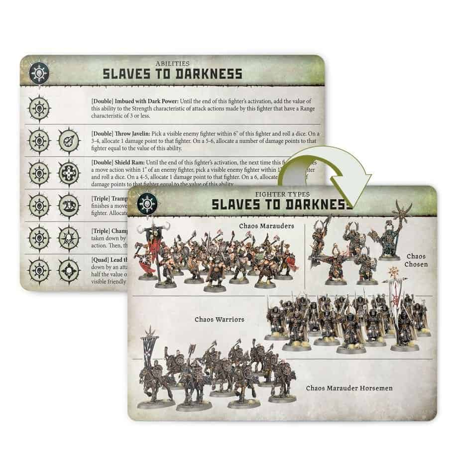 Fighters in the Slaves to Darkness Warband