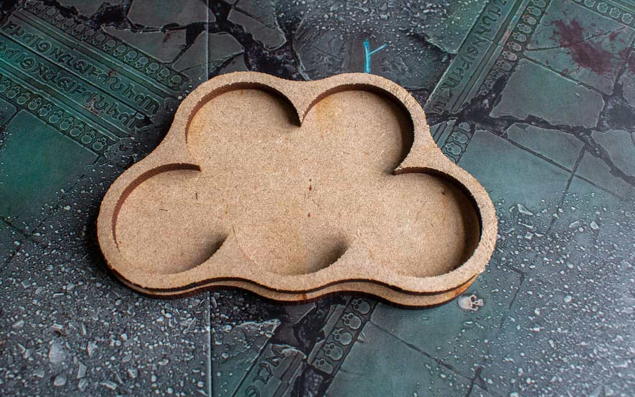 MDF movement trays for Warhammer