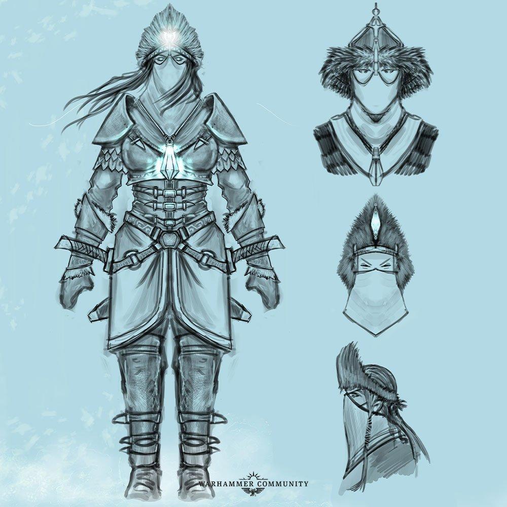 Some Kislev artwork for Warhammer: The Old World