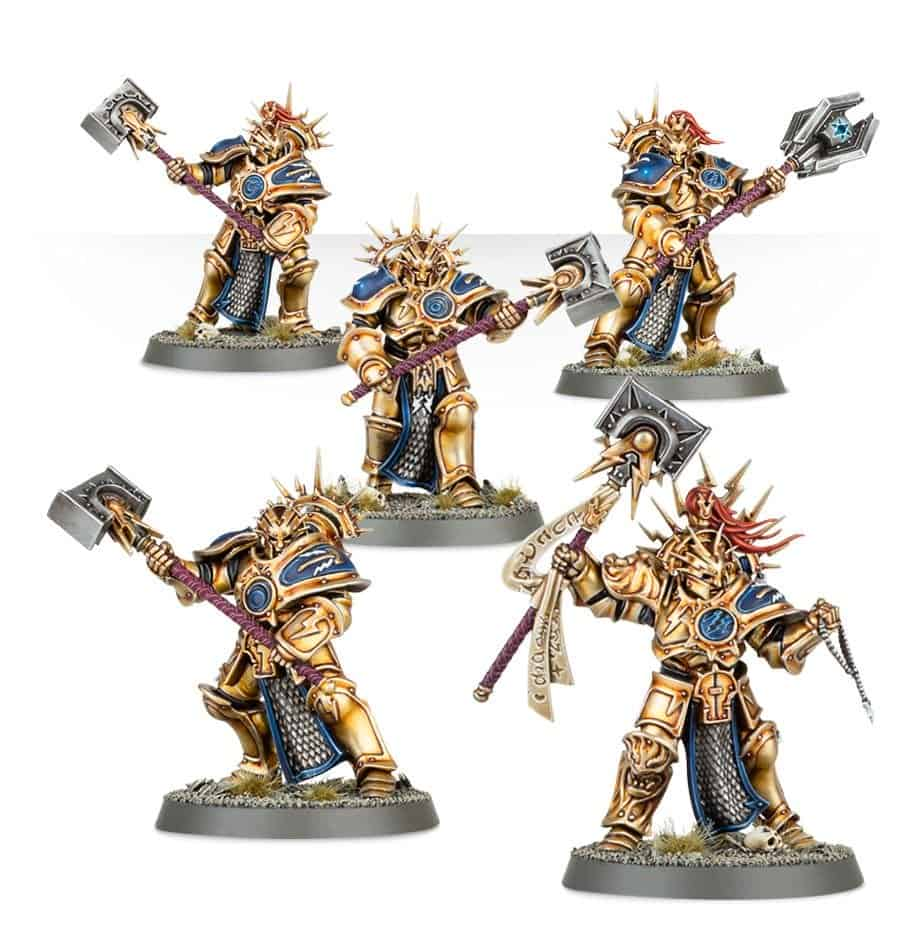 Some retributors useable in a Warcry stormcast eternals warrior chamber warband